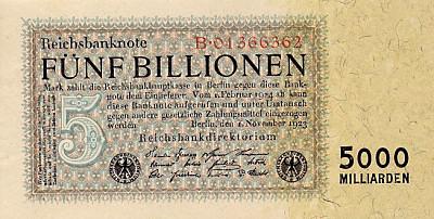 5 Billionen Mark