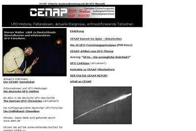Centrales Erforschungsnetz Außergewöhnlicher Himmelsphänomene