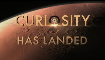 Curiosity has landed!