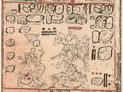 Version des Dresdner Kodex von Version von Ernst Förstemann (1880)