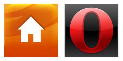 Firefox Home und Opera Mini fürs iPhone