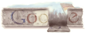 Google Mauerfall-Doodle