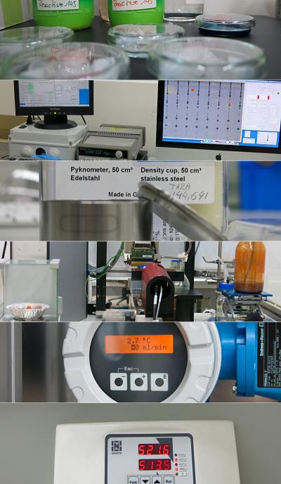 Kleines Spektrum der Labortätigkeiten