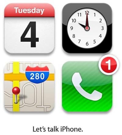 Die offizielle Apple-Einladung zum iPhone-Event