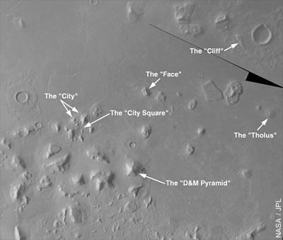 Vermeintliche Mars-Artefakte