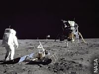 Apollo erreicht den Mond