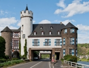 Straßendurchbruch an der Oberburg in Gondorf
