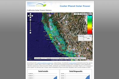 Solarkraftwerke in Kalifornien