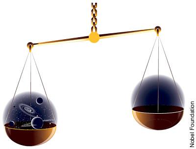 Symmetriebruch führt zur Geburt des Universums