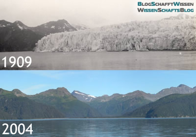 Vergleich: McCarthy Glacier 1909 und 2004