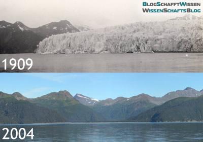 Vergleich: McCarthy Glacier 1909 und 2004