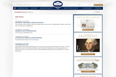 Das Blog des Weißen Hauses