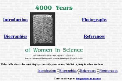 Frauen in der Wissenschaft