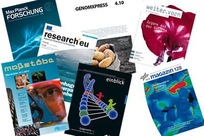 Kostenlose naturwissenschaftliche und technische Zeitschriften